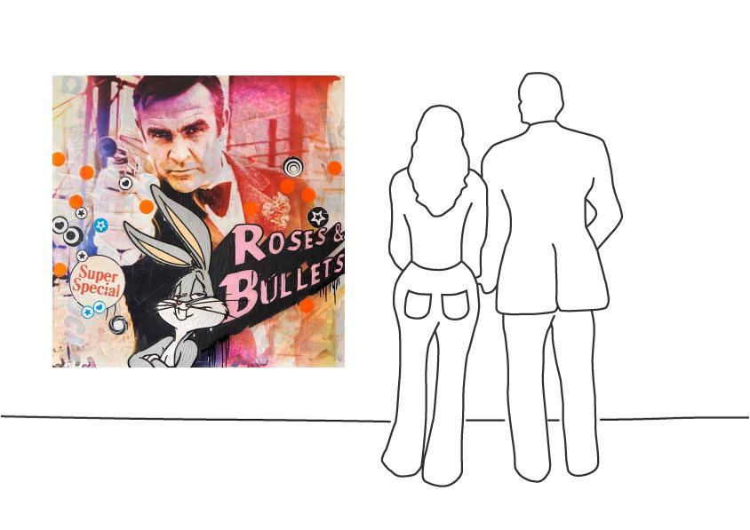"""Jörg Döring """"Roses & Bullets / ML"""""""