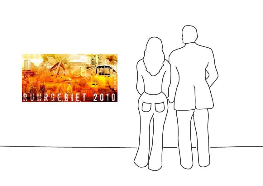 "Fritz Art ""Ruhrgebietscollage 7 (2010)"""