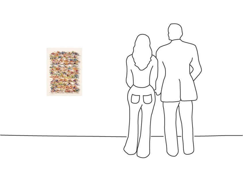 """David Gerstein """"Side Walk (Papercut)"""""""