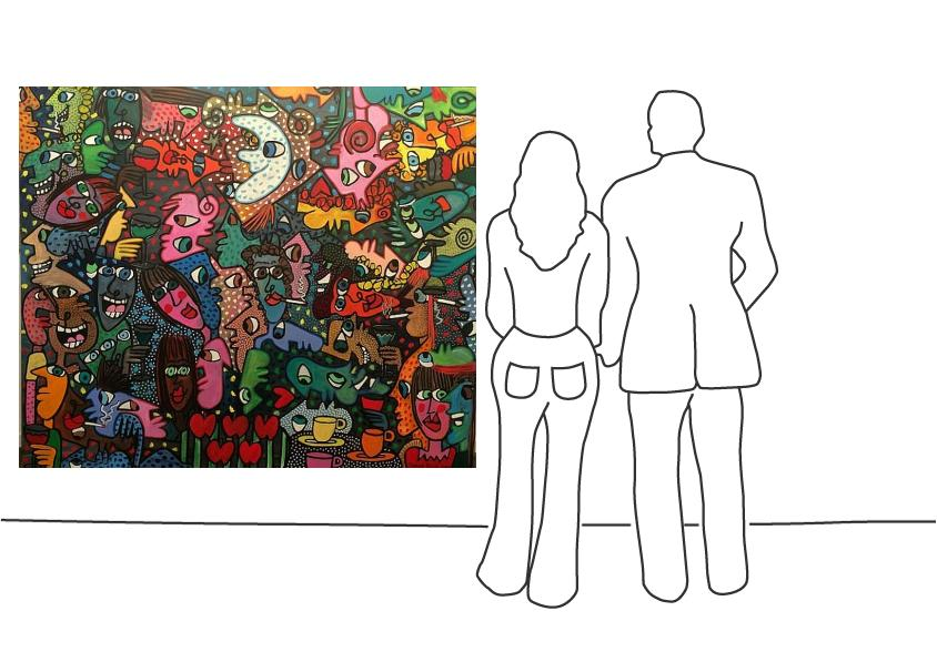 """James Rizzi """"The Inspirational Perfection of Failure"""""""