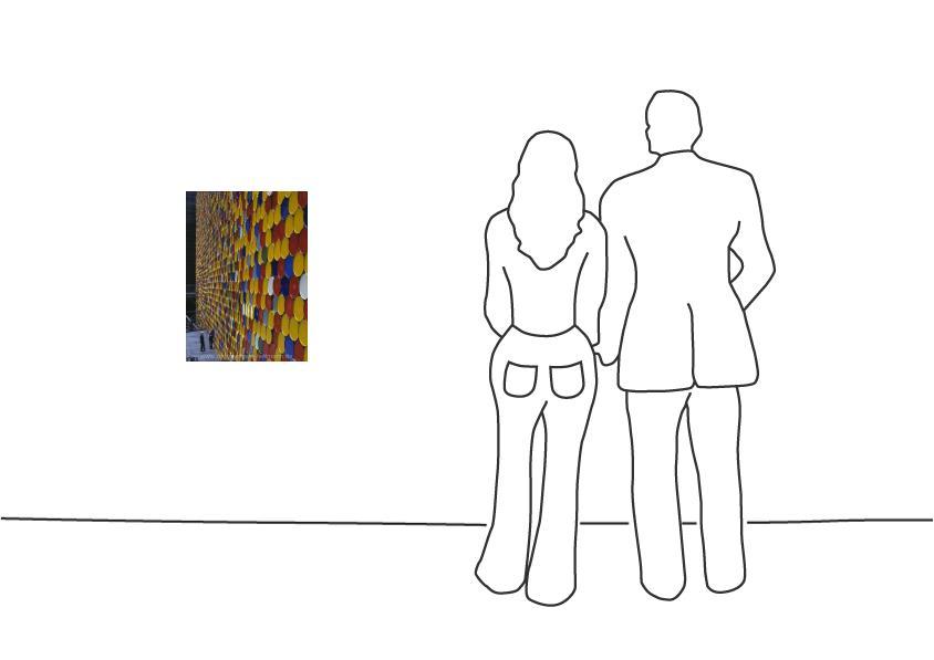 "Christo ""The Wall Nr. 2 Oberhausen"""