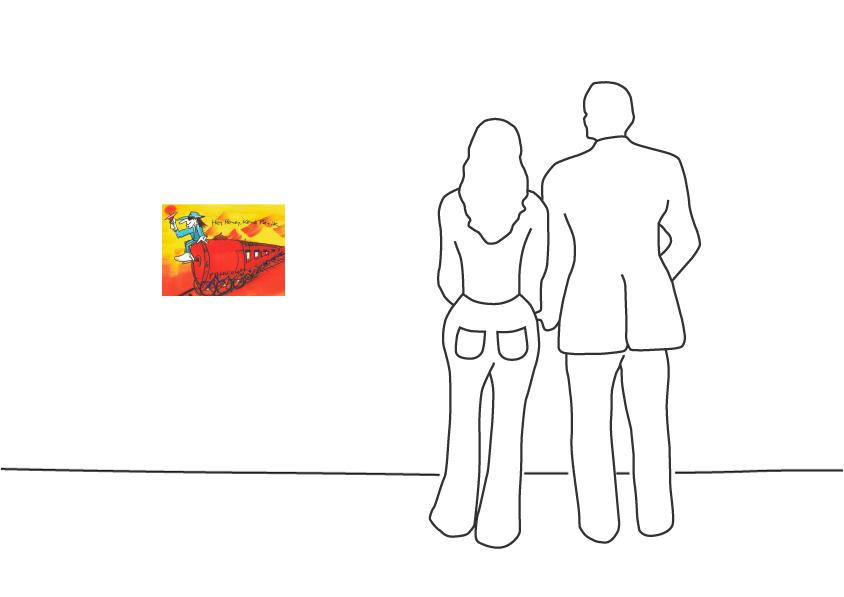 "Udo Lindenberg ""Hey Honey, keine Panik -  Sonderzug nach Pankow Graphik"""