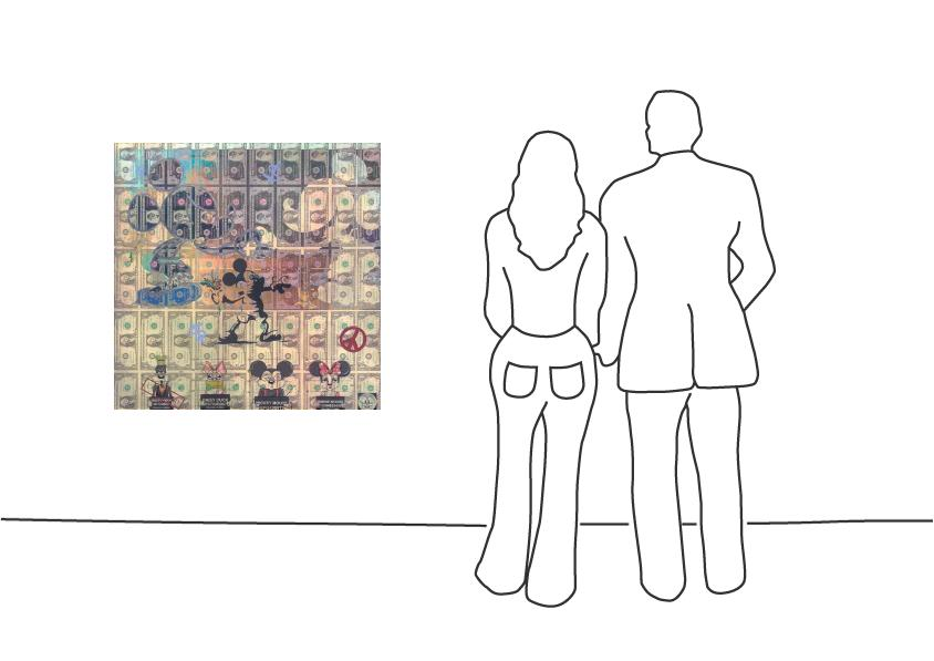 """Diederik van Appel """"Show me the Love Banksy"""""""