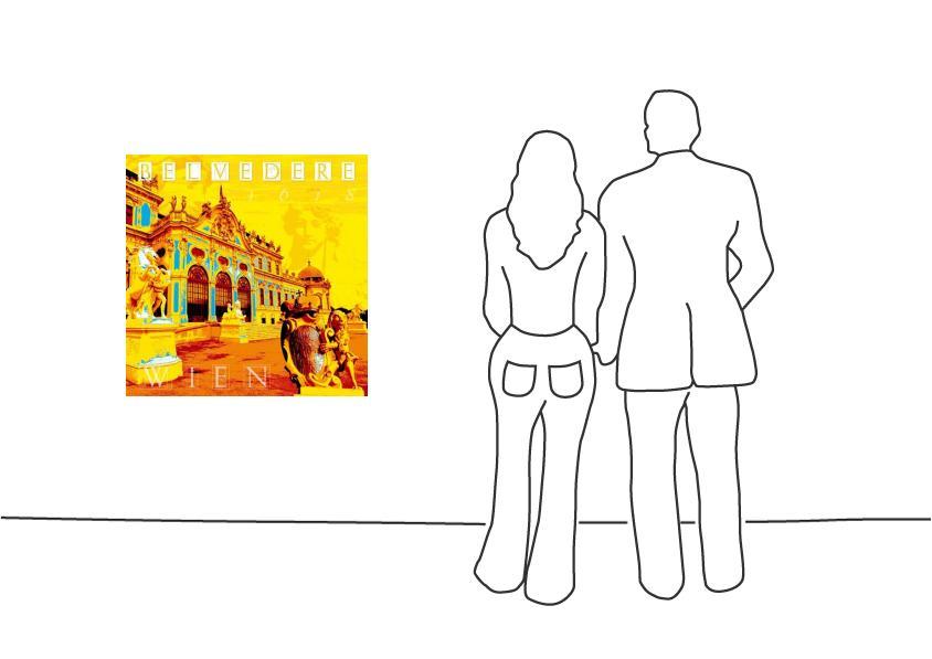 """Fritz Art """"Wien Schloss Belvedere"""""""