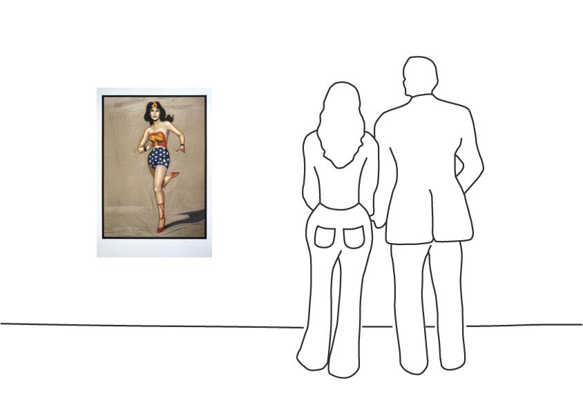 "Mel Ramos ""Wonder Woman"""