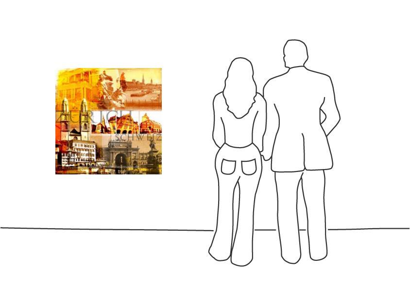 """Fritz Art """"Zuerich Collage"""""""
