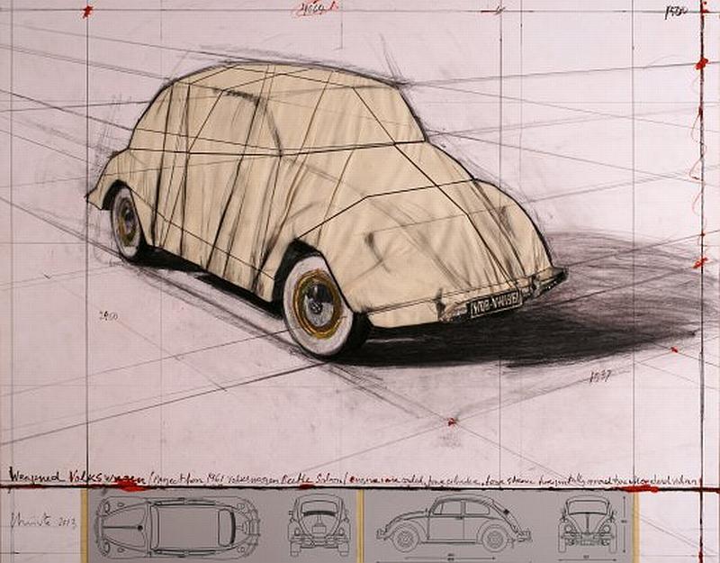 """""""Wrapped Volkswagen"""" von Christo"""
