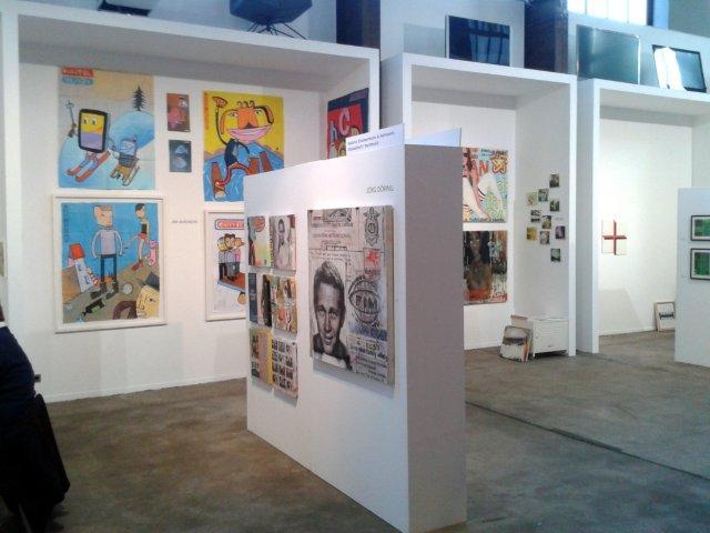Messestand der Galerie Zimmermann & Heitmann in Essen