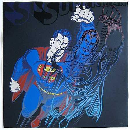 """Supermann"" Andy Warhol"