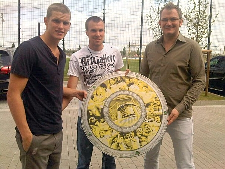 Sven Bender, Kevin Großkreutz, Tobias Heitmann