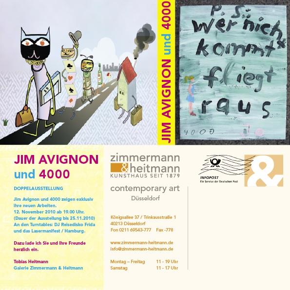 Einladung Jim Avignon und 4000