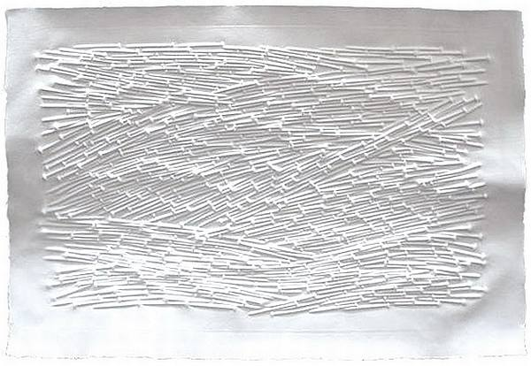 """Landschaft 2011"" Günther Uecker"