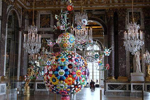 Takashi Murakami in Schloss Versailles