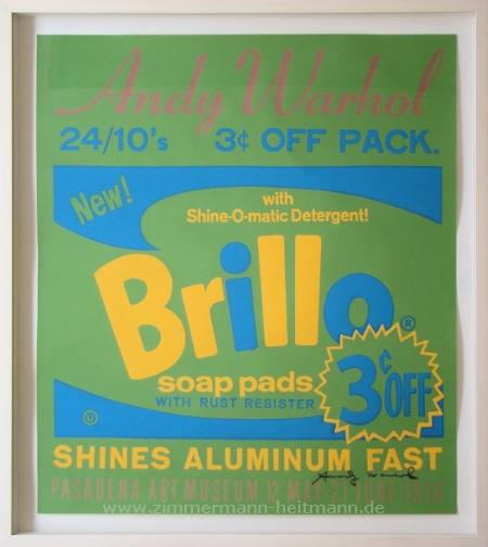 "Andy Warhol ""BRILLO"""