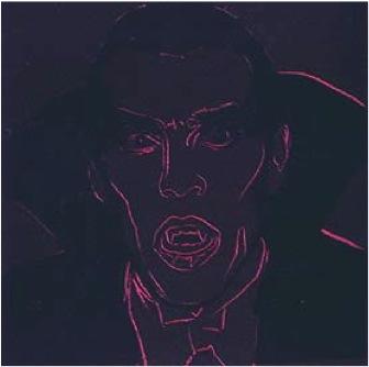 "Andy Warhol ""Dracula"""