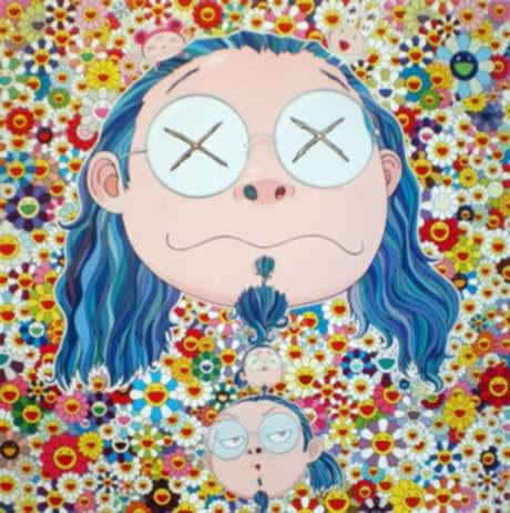 "Takashi Murakami ""Self-portrait Of The Distressed Artist"""