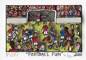 """James Rizzi """"Football-Fun"""""""