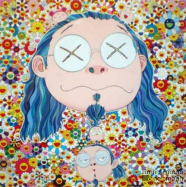 "Takashi Murakami ""Selfportrait Of The Distressed Artist"""