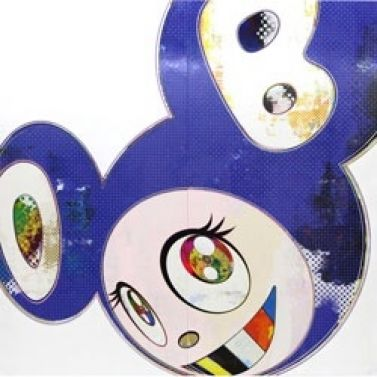 "Takashi Murakami ""And then Blue 2013"" aus dem Jahr 2013"